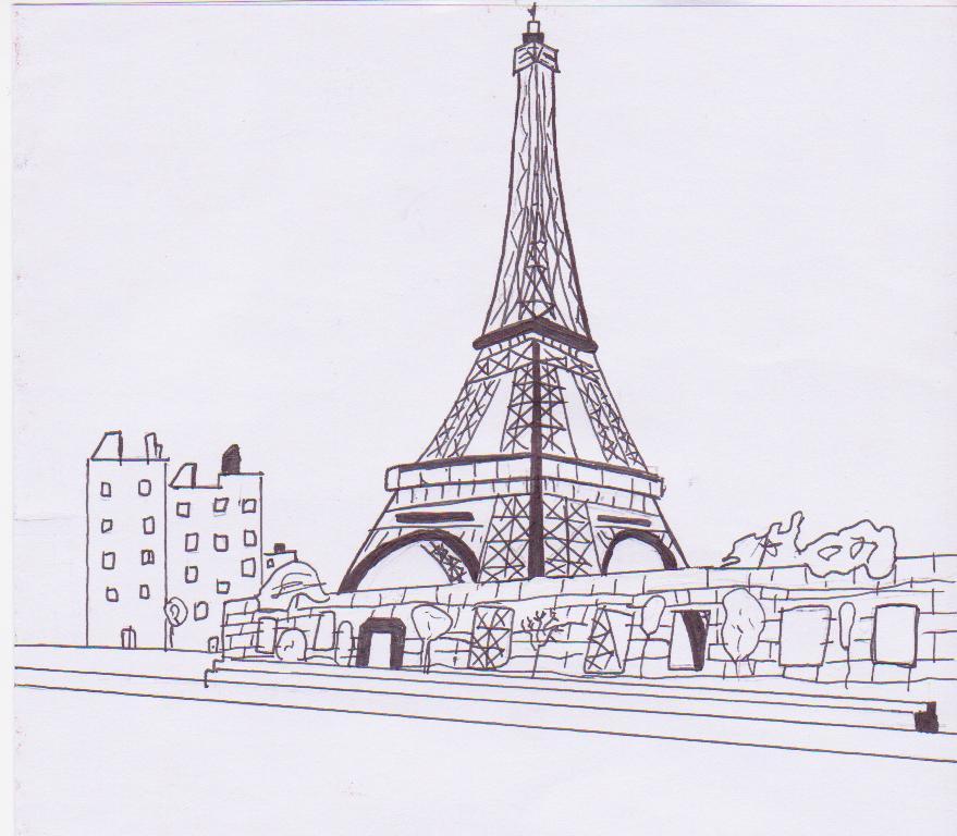 Eiffel Tower by Cal, QLD
